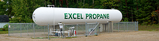 excel propane Kent City, MI storage facility
